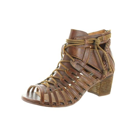 - Cupertine Women's Caged Open Toe Chunky Heel Shoes
