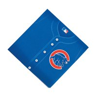 Mlb Chicago Cubs Lunch Napkins for Party - Party Supplies - Licensed Tableware - Licensed Napkins - Party - 36 Pieces