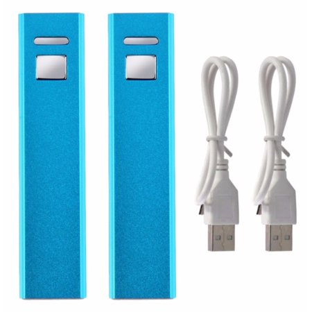 2X Universal External Battery Charger Power Banks for Mobile Phones 2600mAH (Power Universal Battery Charger)
