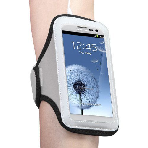 Universal Sport Armband for Apple iPhone 3GS/3G, iPhone 4S/4, iPhone 5/5S SE, iPod Touch 4th Gen Touch 5th Gen Touch 6th Gen - Black