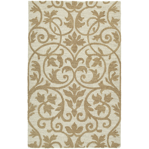 Kaleen Carriage Trellis Brown Indoor Rug