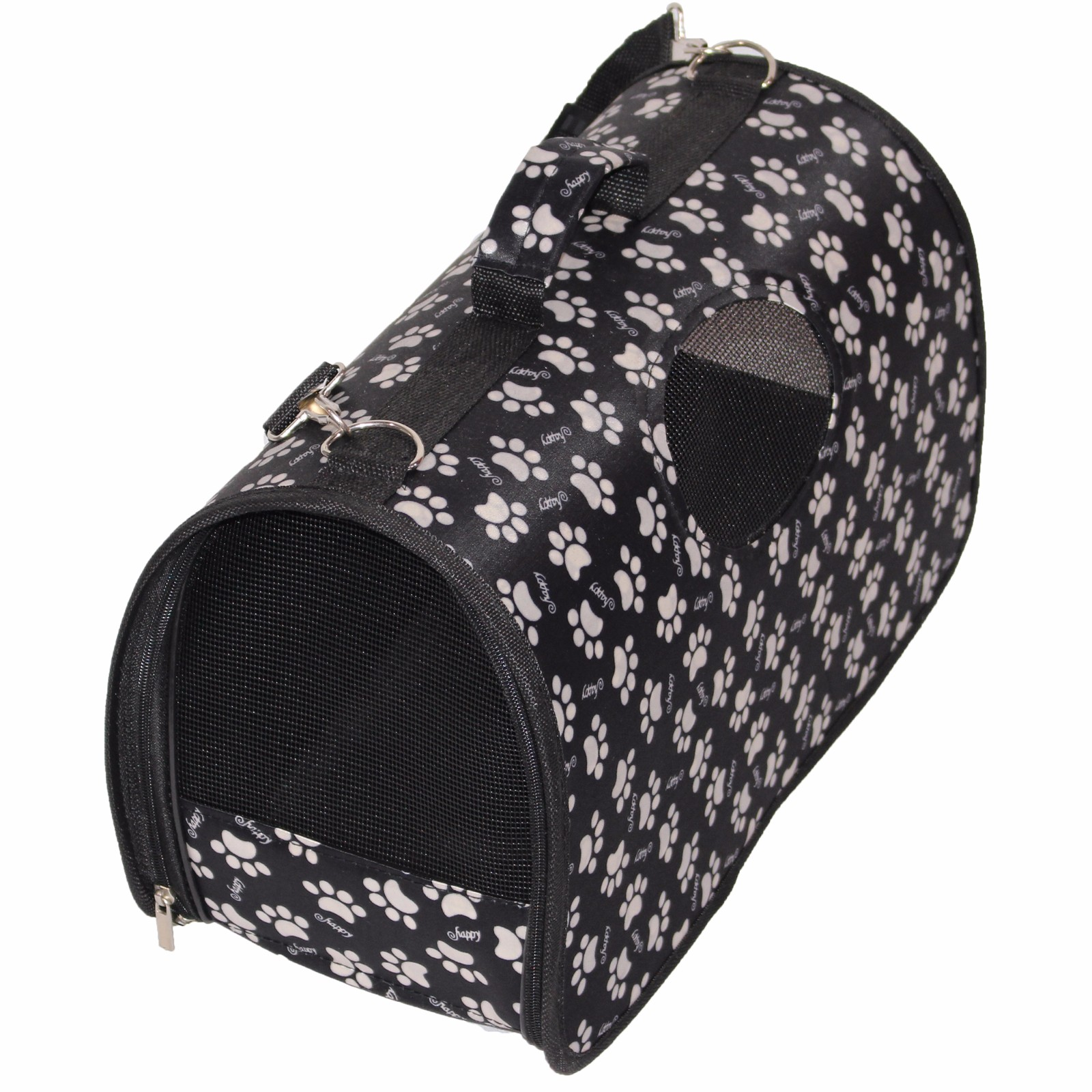 Premium Airline Approved Foldable Pet Travel Carrier,Mesh Sided Tote, Dogs, Purses, Perfect for Kitty and Puppy