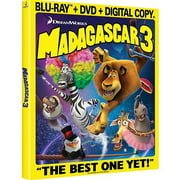 Madagascar 3: Europe's Most Wanted (Blu-ray + DVD) (Widescreen)