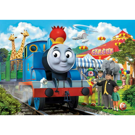 THOMAS AND FRIENDS CIRCUS TRAIN edible cake image frosting sheet decoration cake topper