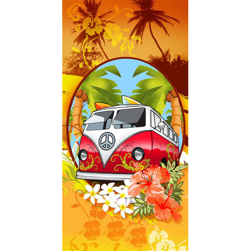 Kaufman Sales Hippie Mobile Beach Towel