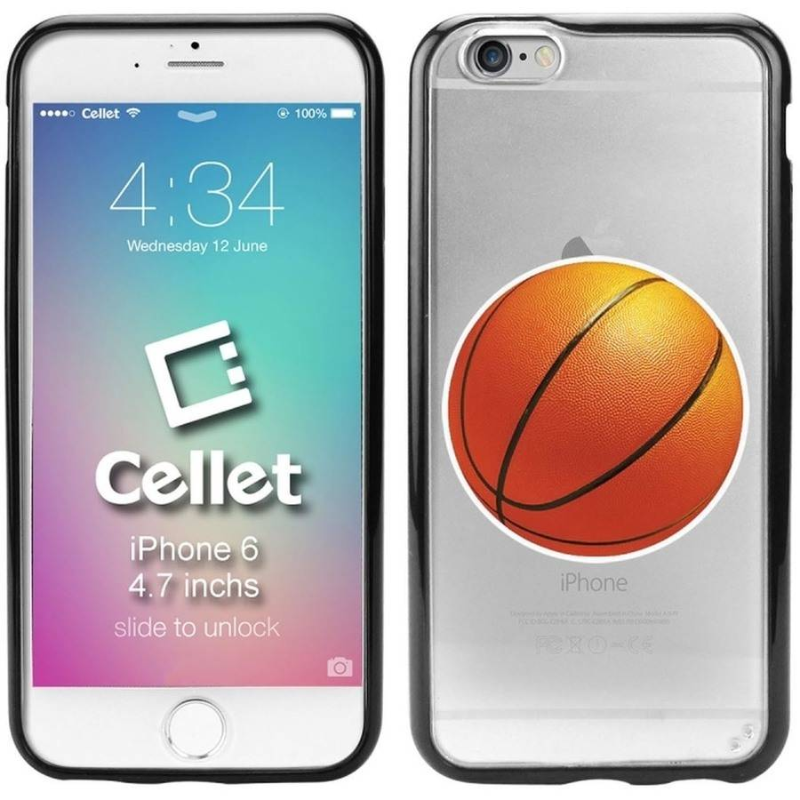 Cellet TPU/PC Proguard Case with Basketball for Apple iPhone 6