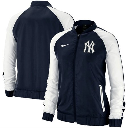 New York Yankees Nike Women's Varsity Full-Zip Jacket - Navy Nike Hockey Jacket