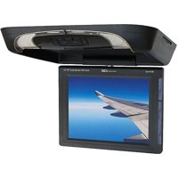 "XO Vision GX1572B, 15"" Overhead LCD Monitor with DVD Player and IR/FM Transmitters"