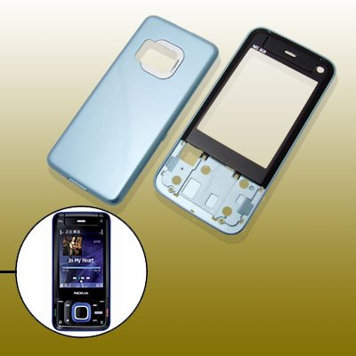 - Blue Housing Faceplate Fascia Cover for Nokia N81