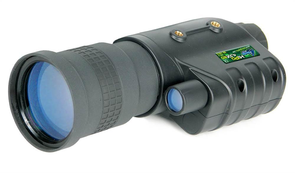 Bering Optics 3.4x50 HiPo Gen I Night Vision Monocular, Black, 7.8inx3.9inx2.6in by FLASHLIGHT PLANET, LLC