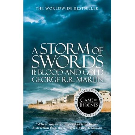 A Storm of Swords: Part 2 Blood and Gold (A Song of Ice and Fire Book 3) (Paperback) - Halloween Songs Part 3