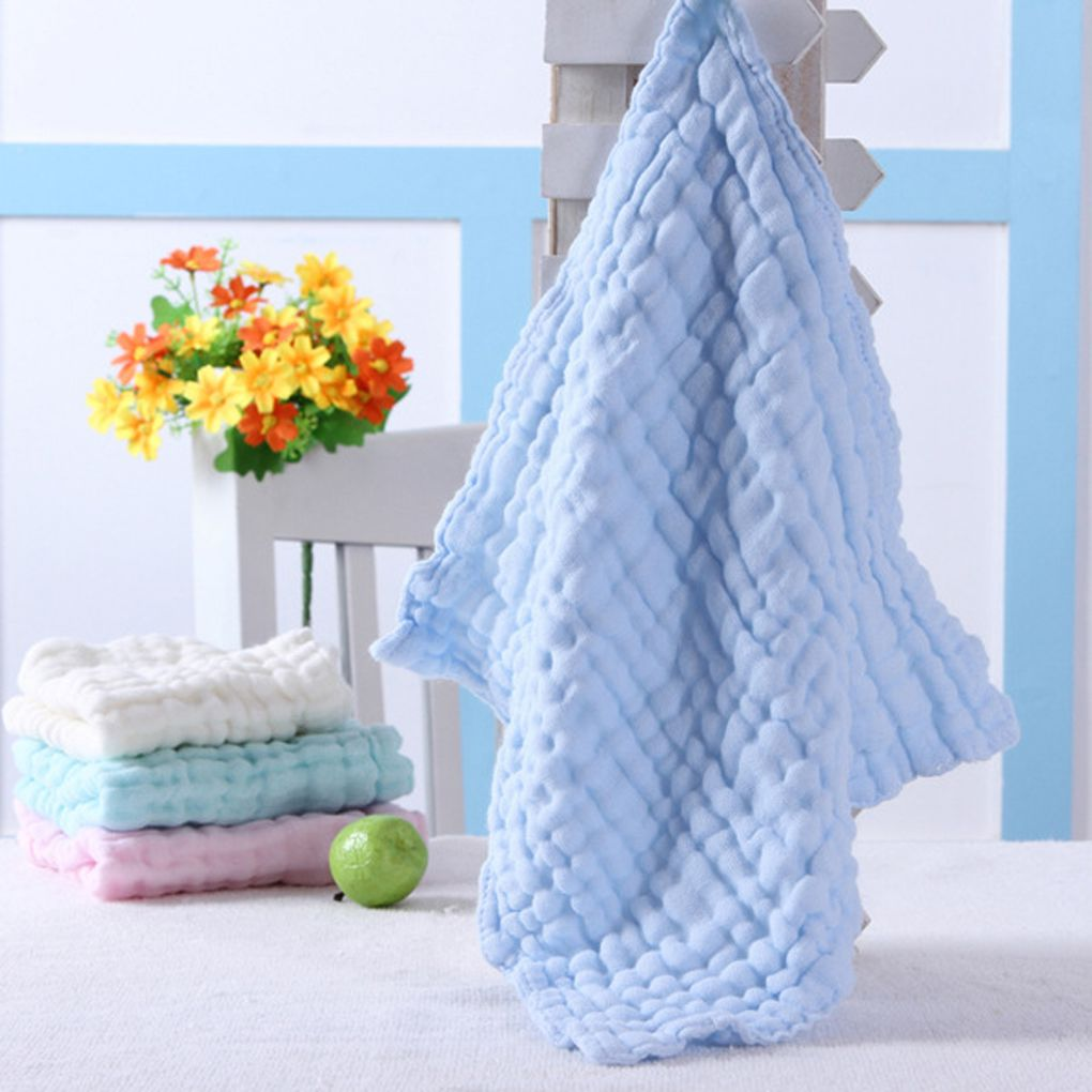 Baby Washcloths For Sensitive Skin Washcloths Cotton Towels Gauze Square by Global Box