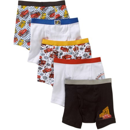 Toddler Boys Boxer Briefs are an ideal undergarment for your little one. This 5-pack of assorted colors comes with solid shades and fun patterns and is an essential wardrobe staple. ComfortSoft briefs are long like boxers but snug like briefs, making them comfortable and practical/5(15).