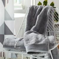 MoDRN Gradient 3-Piece Bath Towel Set - Sea Gray