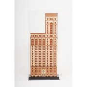 Old Modern Handicrafts Old New York Time Building Sculpture