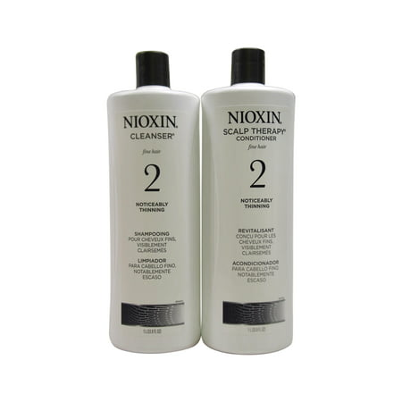 Nioxin Nioxin System 2 Cleanser And Scalp Therapy Liter