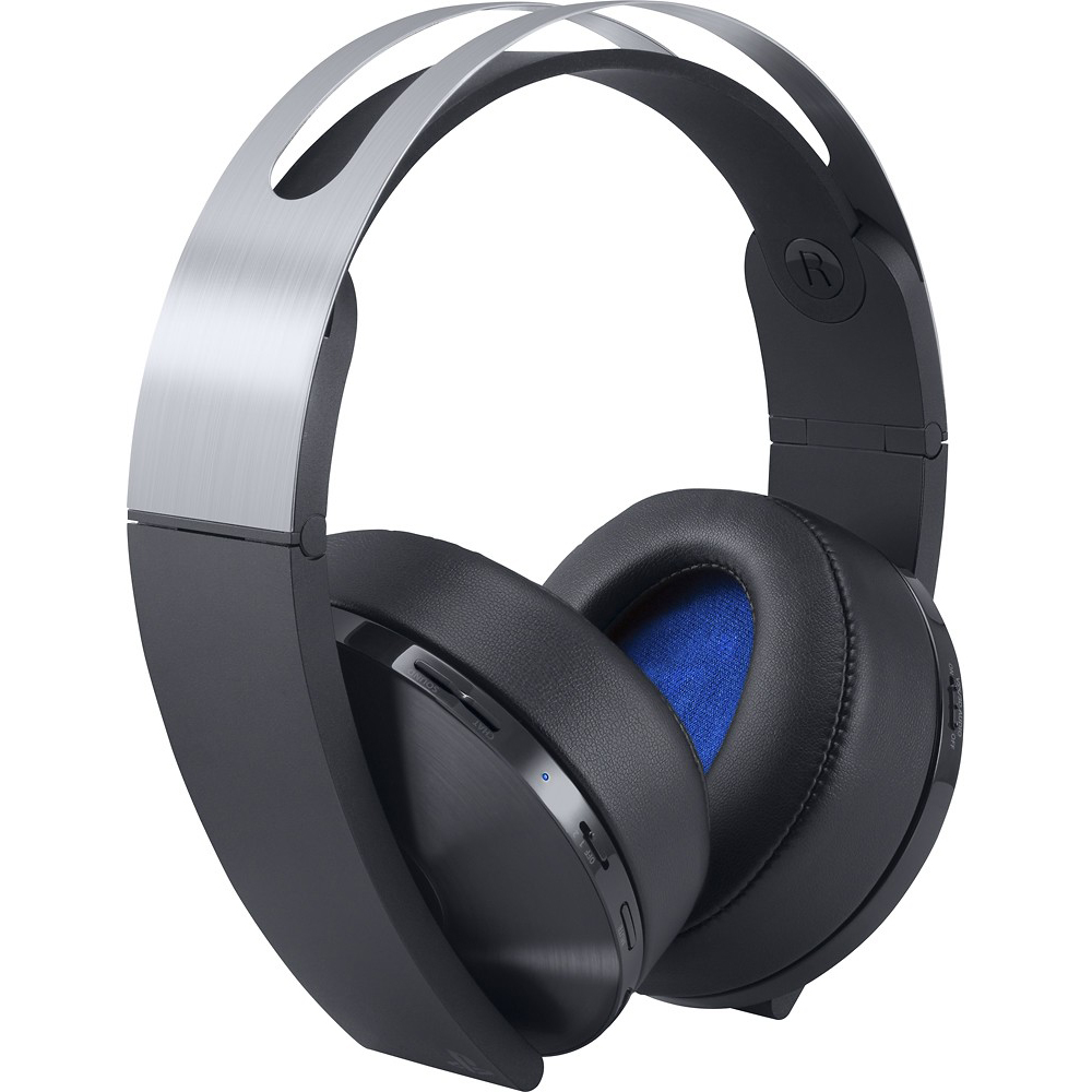 Sony Playstation 4 Wireless Platinum Headset, 711719504573 by Sony