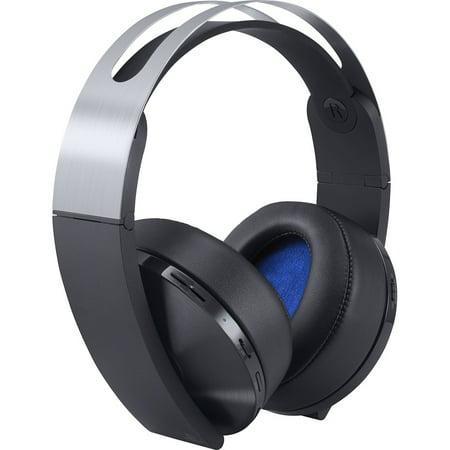 (Sony Playstation 4 Wireless Platinum Headset, 711719504573)