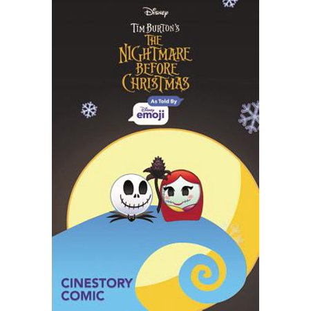 Disney The Nightmare Before Christmas: As Told by Emoji](Nightmare Before Christmas Tablecloth)