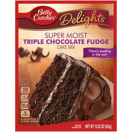 Super Moist Cake Mix Chocolate Fudge