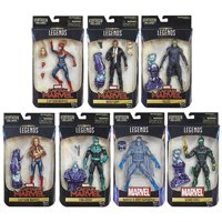 Hasbro Marvel Legends Captain Marvel Kree Sentry Case of 7 Action Figures