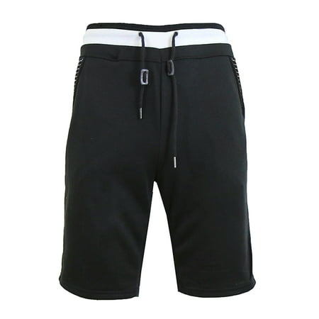 Men's Sweat Jogger Shorts With Trim (Joggers Shorts)
