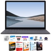 """Microsoft VGY-00001 Surface Laptop 3 13.5"""" Touch Intel i5-1035G7 8GB/128GB Bundle with Elite Suite 18 Software (Office Suite Pro, Photo Editor, PDF Editor, PCmover Pro) + 1 Year Extended Warranty"""
