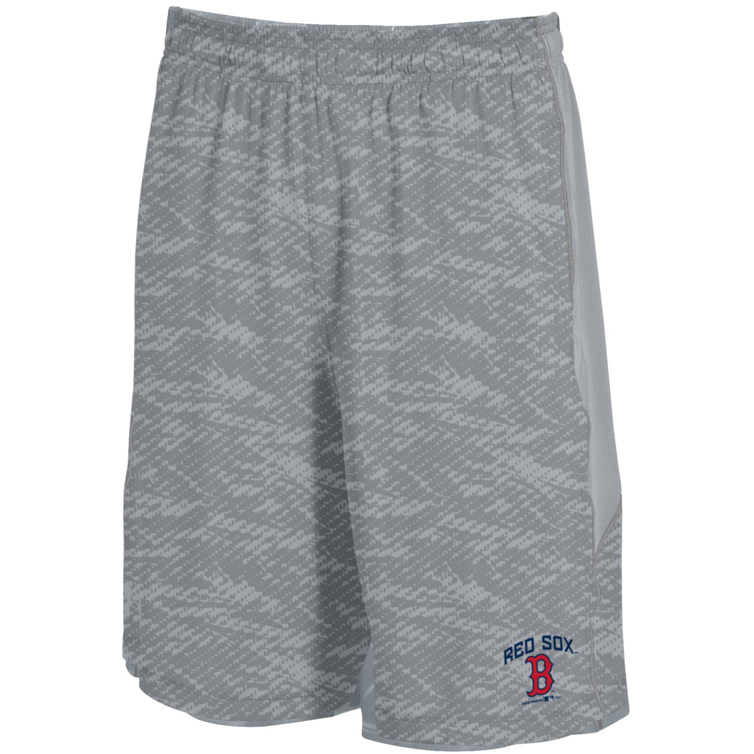 Boston Red Sox Under Armour Raid Novelty Shorts - Steel