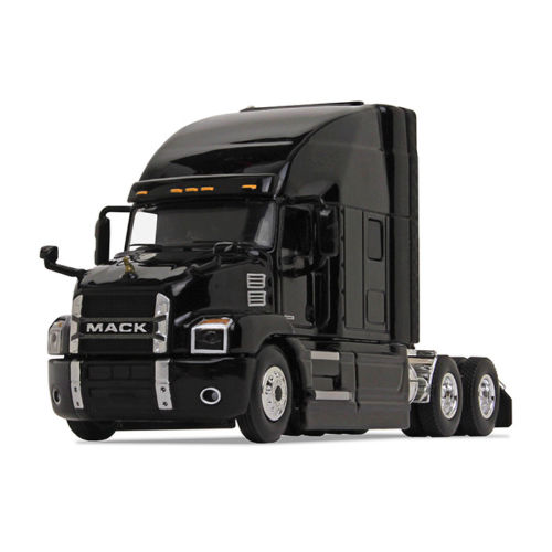 Firstgear 1/64 scale Diecast Collectible Black Mack Anthem Sleeper Cab Tractor (#60-0362)