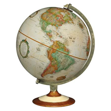 Replogle Salem 12 in. Antique Desk Globe