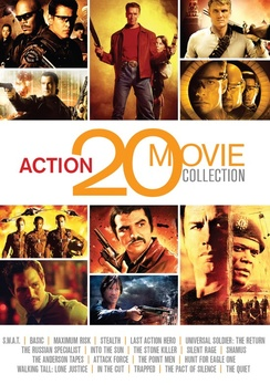 Action Movie Collection (DVD) by Mill Creek Entertainment