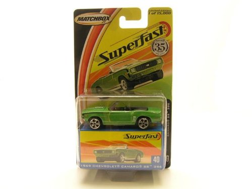 Superfast 1969 Chevrolet Camaro SS 396, By Matchbox by
