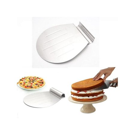Steel Cake Tray (1Pcs Stainless Steel Cake Lifter Cake Baking Transfer Tray Cake Moving)