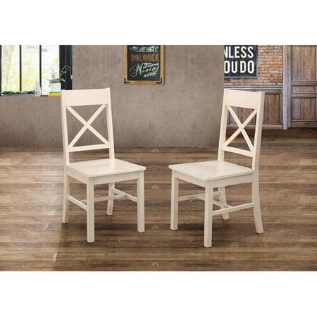 Walker Edison Farmhouse Dining Chair - Set of
