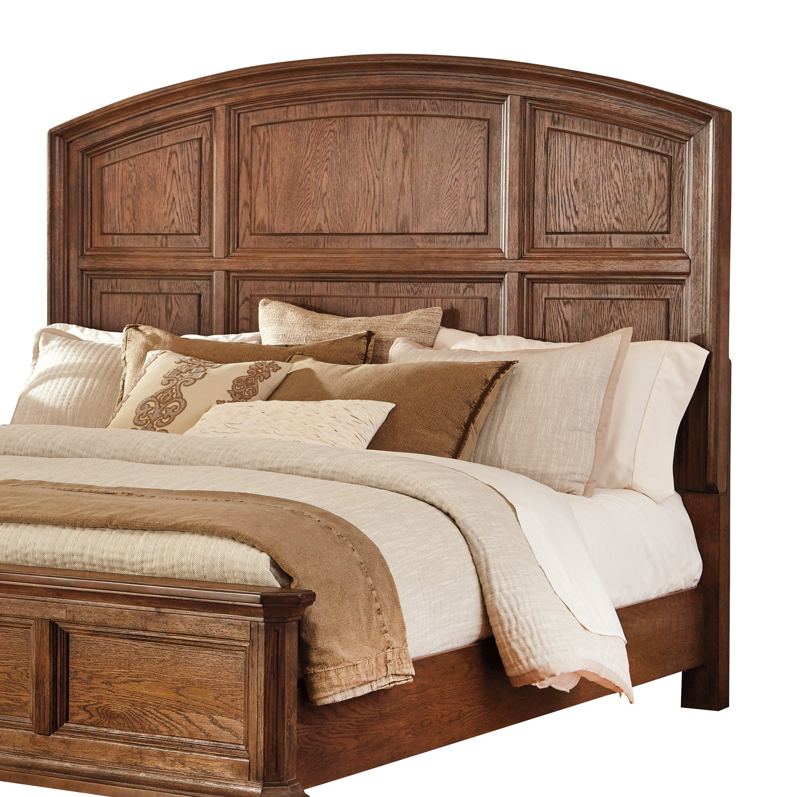 Signature Design by Ashley Maeleen Arched Wood Panel Headboard