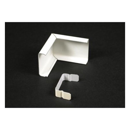 Wiremold V2018C External Elbow Cover Fitting Steel Ivory For Use With 2000 Series Single-Channel - Joint Cover Raceway Fitting