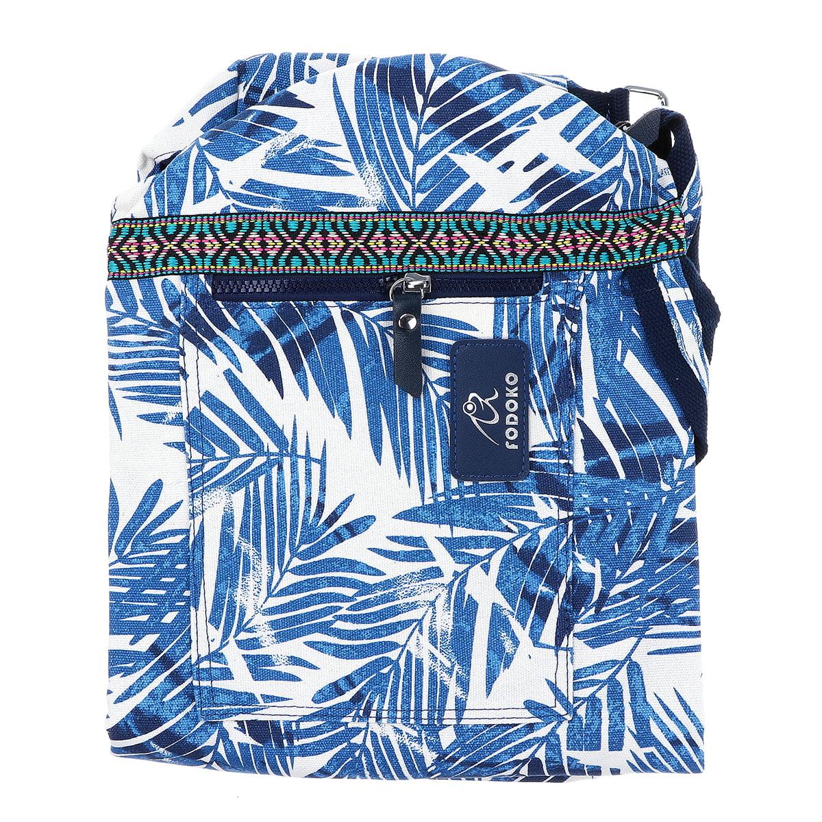Indian Mandala Handmade Cotton Black Gold Yoga Mat Bag Carry Beach Bags Hippie Mandala Gym Mat Carrier Sports Bags With Shoulder Strap Bags