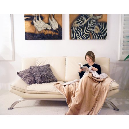 Napa Super Soft Cozy Sherpa Throw Blanket 50 Quot X60 Quot Luxury