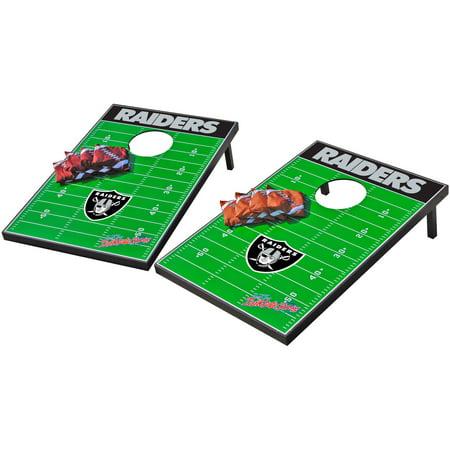 Wild Sports NFL Oakland Raiders 2x3 Field Tailgate Toss