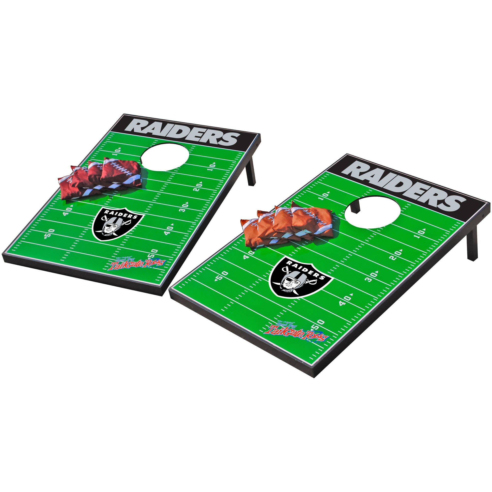 Wild Sports NFL Oakland Raiders 2x3 Field Tailgate Toss