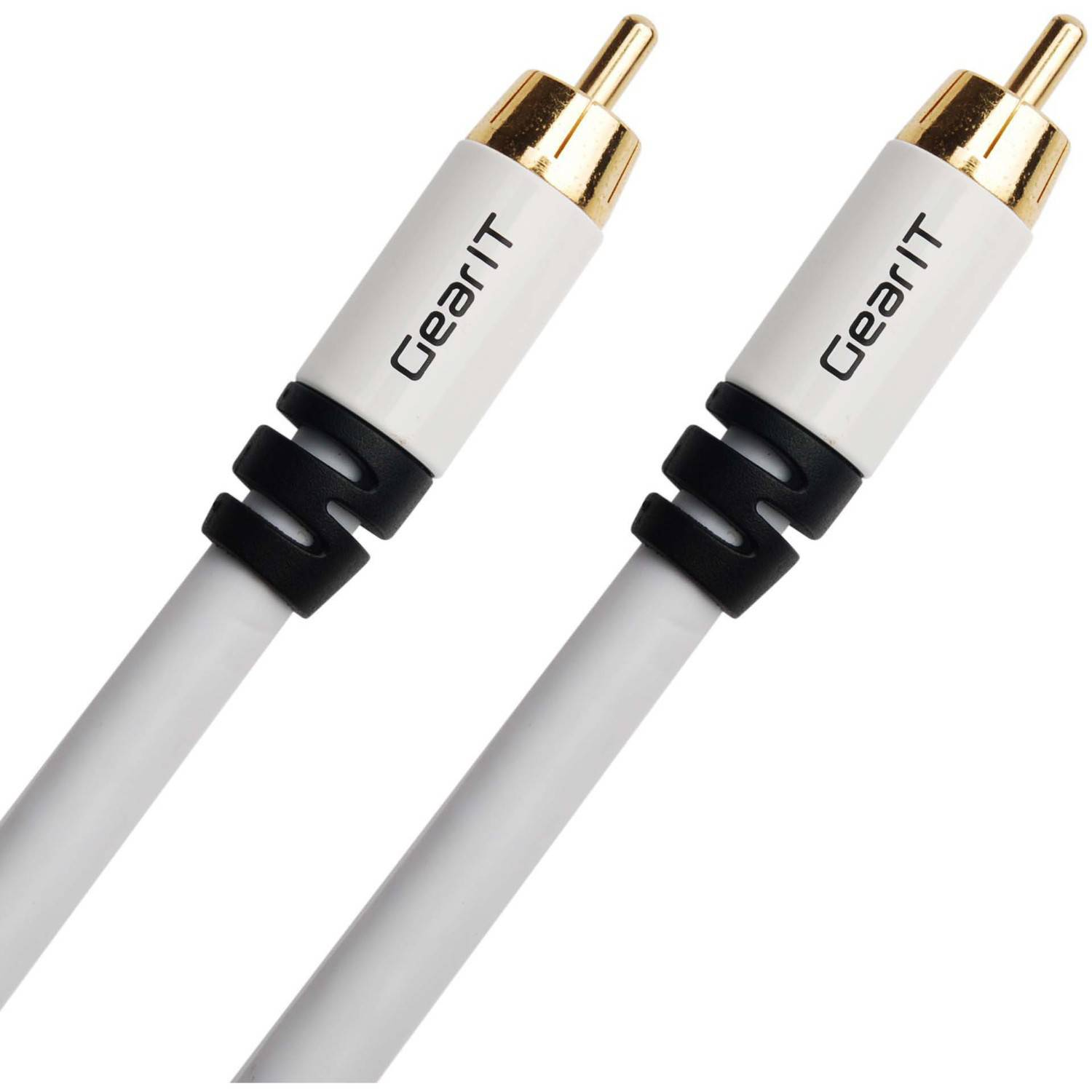 GearIt 10' RCA Subwoofer Audio Gold Plated Cable
