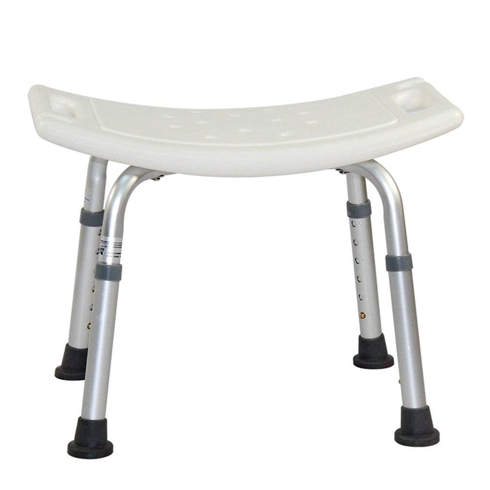 Shower Tub Bench Medical Safety Bathroom Chair Height Adjustable Seat Stool Bath