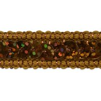 Expo Int'l Lexi Single Row Starlight Hologram Sequin with Sparkle Edge Trim by the yard