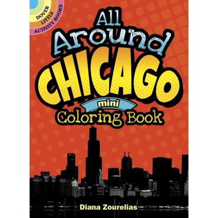 All Around Chicago Mini Coloring Book](Halloween Day Activities Chicago)