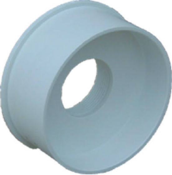 Genova Products S44241 Sewer Drain Styrene Adapter, 4-In. Spigot x 1-1/2-In. FIP - Quantity 1