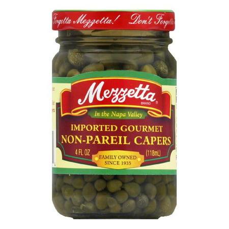 Mezzetta Non Pareil Capers  4 Oz  Pack Of 12