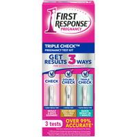 First Response Triple Check Pregnancy Test 3 ct.