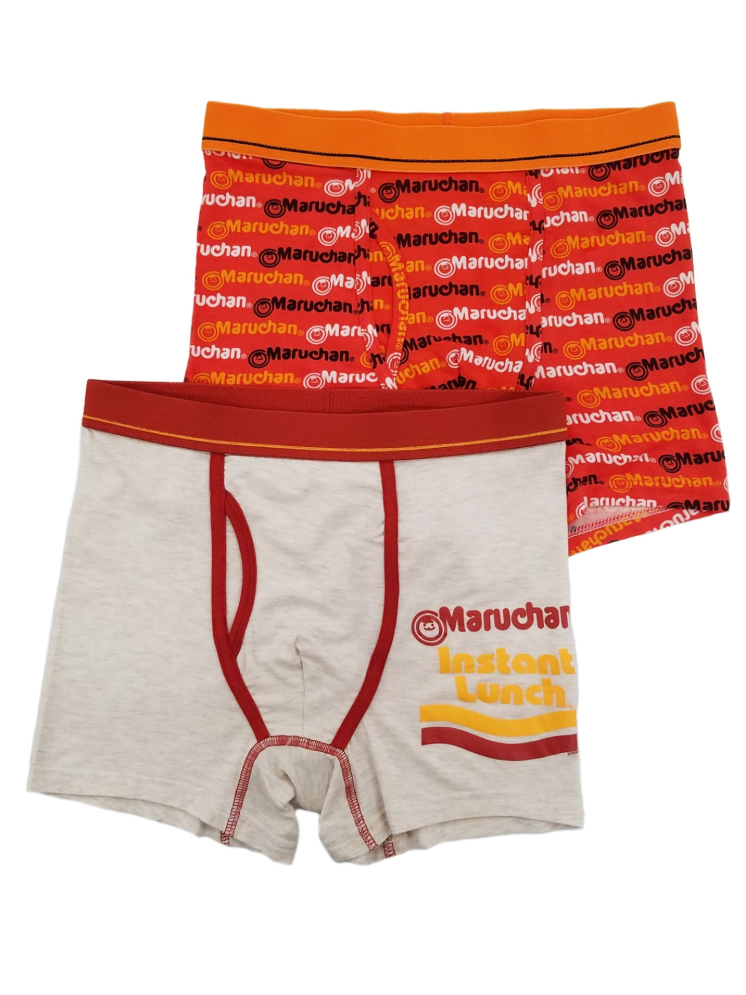 Mens Soft Breathable Red Outer Space Underwear Boxer Briefs