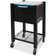 Vertiflex, InstaCart Sidekick File Cart, 1 Each, Black