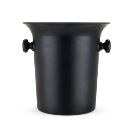 Black Ice Bucket by True (Styrofoam Ice Buckets For Parties)